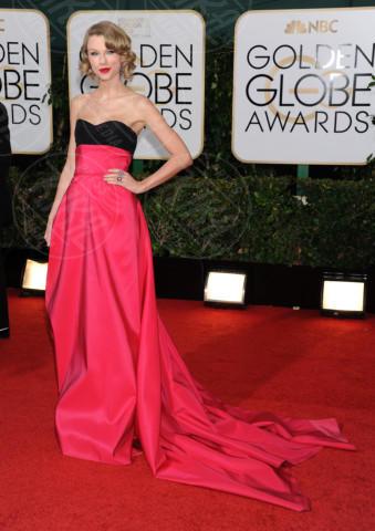Taylor Swift - Beverly Hills - 11-01-2014 - Golden Globe 2014: gli arrivi sul red carpet
