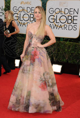 Kaley Cuoco - Beverly Hills - 11-01-2014 - Golden Globe 2014: gli arrivi sul red carpet