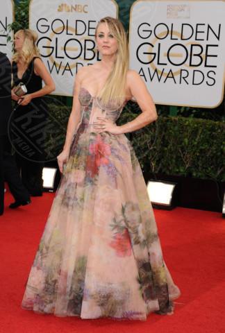 Kaley Cuoco - Beverly Hills - 11-01-2014 - Golden Globe 2014: gli arrivi sul red carpet