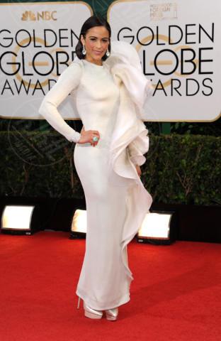 Paula Patton - Beverly Hills - 11-01-2014 - Golden Globe 2014: gli arrivi sul red carpet