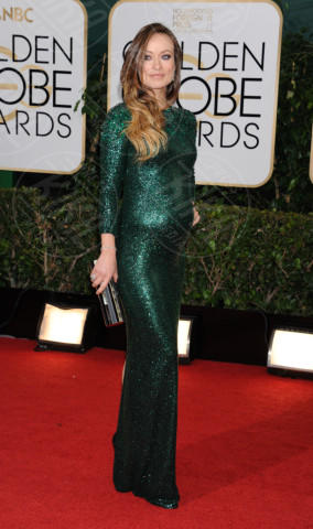 Olivia Wilde - Beverly Hills - 11-01-2014 - Golden Globe 2014: gli arrivi sul red carpet