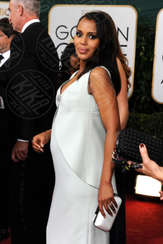 Kerry Washington - Beverly Hills - 11-01-2014 - Golden Globe 2014: gli arrivi sul red carpet