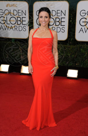 Julia Louis-Dreyfus - Beverly Hills - 11-01-2014 - Golden Globe 2014: gli arrivi sul red carpet