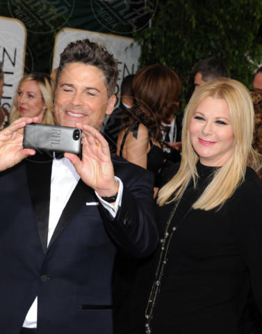Sheryl Berkoff, Rob Lowe - Beverly Hills - 11-01-2014 - Golden Globe 2014: gli arrivi sul red carpet