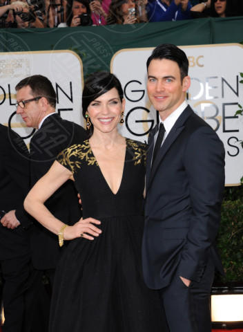 Keith Lieberthal, Julianna Margulies - Beverly Hills - 11-01-2014 - Golden Globe 2014: gli arrivi sul red carpet