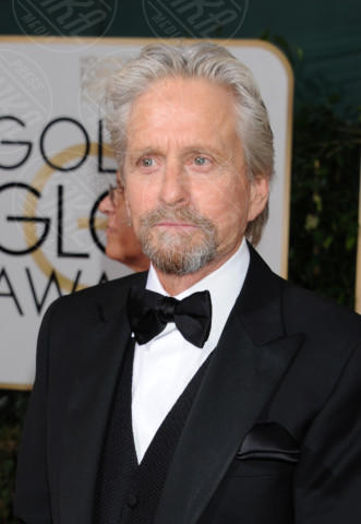 Michael Douglas - Beverly Hills - 11-01-2014 - Golden Globe 2014: gli arrivi sul red carpet