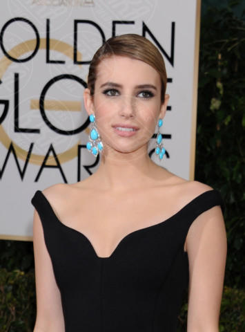 Emma Roberts - Beverly Hills - 11-01-2014 - Golden Globe 2014: gli arrivi sul red carpet