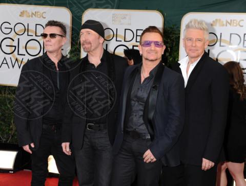 U2, Bono - Beverly Hills - 11-01-2014 - Golden Globe 2014: gli arrivi sul red carpet