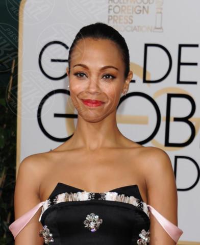 Zoe Saldana - Beverly Hills - 11-01-2014 - Golden Globe 2014: gli arrivi sul red carpet
