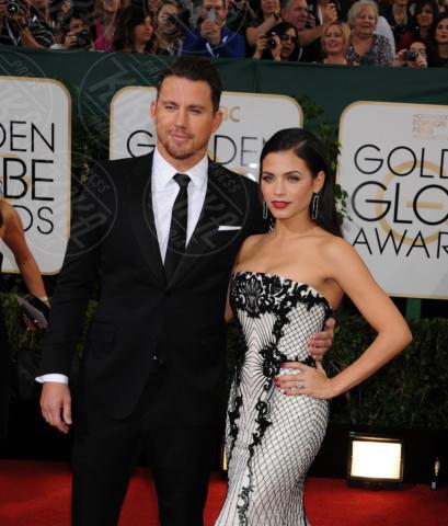 Jenna Dewan, Channing Tatum - Beverly Hills - 11-01-2014 - Golden Globe 2014: gli arrivi sul red carpet