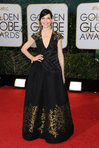 Julianna Margulies - Beverly Hills - 11-01-2014 - Golden Globe 2014: gli arrivi sul red carpet