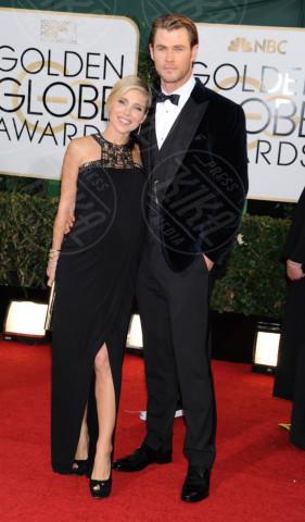 Chris Hemsworth, Elsa Pataky - Beverly Hills - 11-01-2014 - Golden Globe 2014: gli arrivi sul red carpet