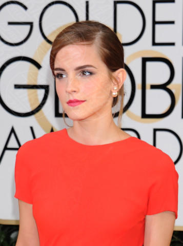 Emma Watson - Beverly Hills - 11-01-2014 - Golden Globe 2014: gli arrivi sul red carpet