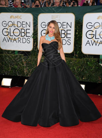 Sofia Vergara - Beverly Hills - 11-01-2014 - Golden Globe 2014: gli arrivi sul red carpet