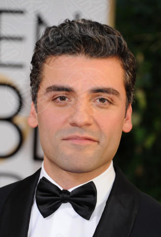 Oscar Isaac - Beverly Hills - 11-01-2014 - Golden Globe 2014: gli arrivi sul red carpet