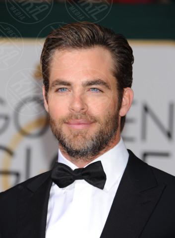 Chris Pine - Beverly Hills - 11-01-2014 - Golden Globe 2014: gli arrivi sul red carpet