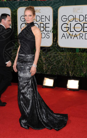 Uma Thurman - Beverly Hills - 11-01-2014 - Golden Globe 2014: gli arrivi sul red carpet