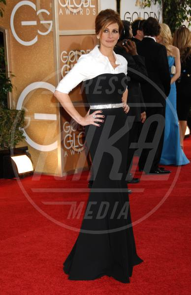 Julia Roberts - Beverly Hills - 12-01-2014 - Golden Globe 2014, il red carpet si veste retrò