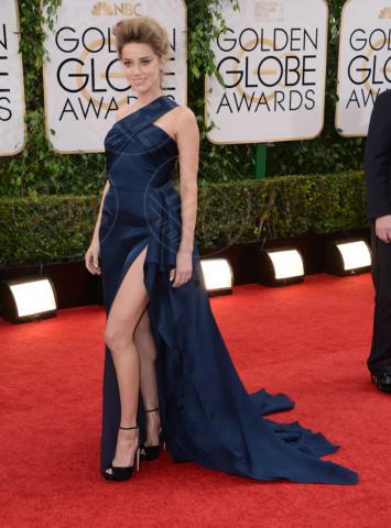 Amber Heard - Beverly Hills - 12-01-2014 - Golden Globe 2014: gli arrivi sul red carpet