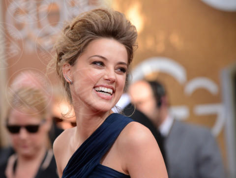 Amber Heard - Beverly Hills - 12-01-2014 - Golden Globe 2014: gli arrivi sul red carpet
