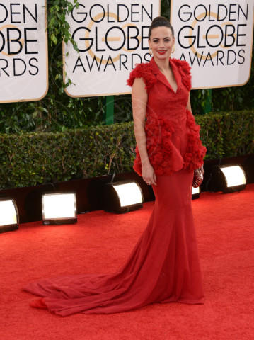 Berenice Bejo - Beverly Hills - 12-01-2014 - Golden Globe 2014: gli arrivi sul red carpet