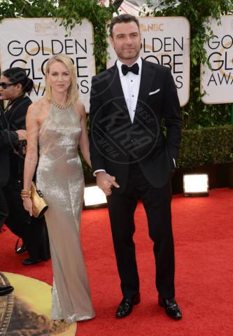 Liev Schreiber, Naomi Watts - Beverly Hills - 12-01-2014 - Golden Globe 2014: gli arrivi sul red carpet