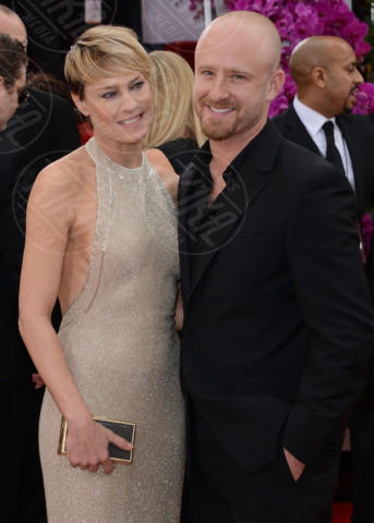 Robin Wright, Ben Foster - Beverly Hills - 12-01-2014 - Golden Globe 2014: gli arrivi sul red carpet
