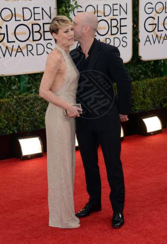Robin Wright, Ben Foster - Beverly Hills - 12-01-2014 - Golden Globe 2014: gli arrivi sul red carpet