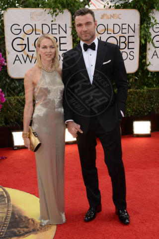 Liev Schreiber, Naomi Watts - Beverly Hills - 12-01-2014 - Golden Globe 2014: gli arrivi sul red carpet