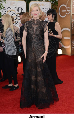 Cate Blanchett - Beverly Hills - 12-01-2014 - Golden Globe 2014: gli stilisti sul red carpet