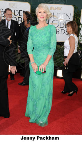 Helen Mirren - Beverly Hills - 11-01-2014 - Golden Globe 2014: gli stilisti sul red carpet