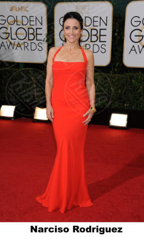 Julia Louis-Dreyfus - Beverly Hills - 11-01-2014 - Golden Globe 2014: gli stilisti sul red carpet
