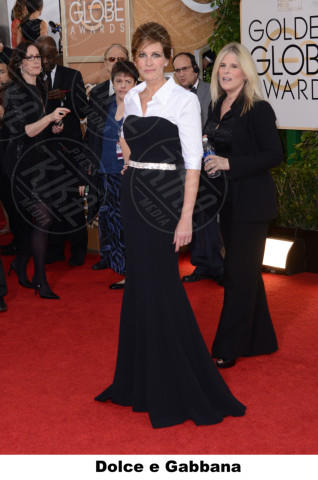 Julia Roberts - Beverly Hills - 12-01-2014 - Golden Globe 2014: gli stilisti sul red carpet