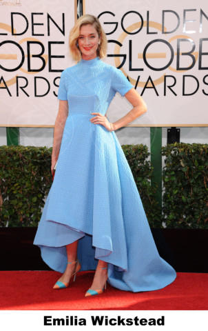 Caitlin Fitzgerald - Beverly Hills - 11-01-2014 - Golden Globe 2014: gli stilisti sul red carpet