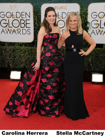 Tina Fey, Amy Poehler - Beverly Hills - 11-01-2014 - Golden Globe 2014: gli stilisti sul red carpet