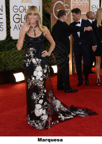 Heidi Klum - Beverly Hills - 12-01-2014 - Golden Globe 2014: gli stilisti sul red carpet