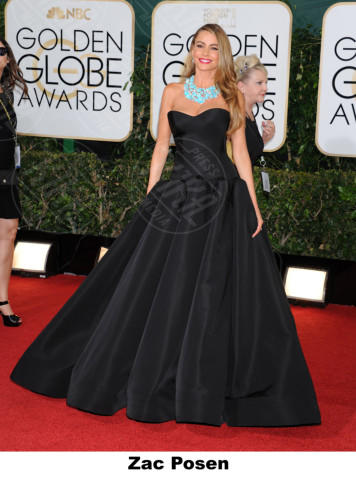 Sofia Vergara - Beverly Hills - 11-01-2014 - Golden Globe 2014, il red carpet si veste retrò