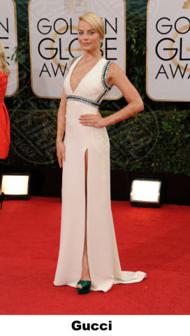 Margot Robbie - Beverly Hills - 11-01-2014 - Golden Globe 2014: gli stilisti sul red carpet