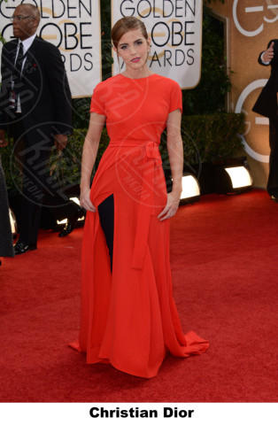 Emma Watson - Beverly Hills - 12-01-2014 - Golden Globe 2014: gli stilisti sul red carpet