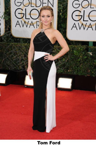 Hayden Panettiere - Beverly Hills - 11-01-2014 - Golden Globe 2014: gli stilisti sul red carpet