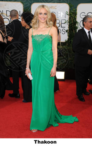 Taylor Schilling - Beverly Hills - 11-01-2014 - Golden Globe 2014: gli stilisti sul red carpet