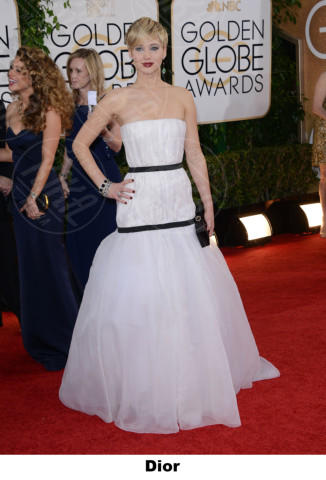 Jennifer Lawrence - Beverly Hills - 12-01-2014 - Golden Globe 2014: gli stilisti sul red carpet