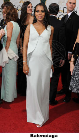 Kerry Washington - Beverly Hills - 11-01-2014 - Golden Globe 2014: gli stilisti sul red carpet