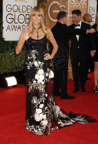 Heidi Klum - Beverly Hills - 12-01-2014 - Golden Globe 2014: gli arrivi sul red carpet