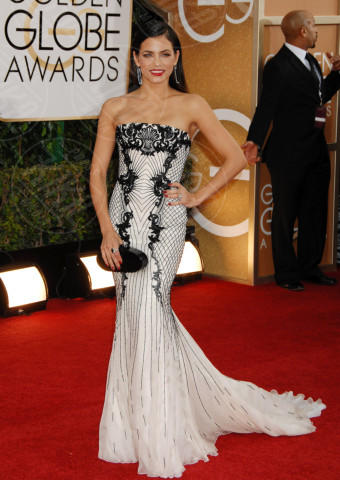Jenna Dewan - Beverly Hills - 12-01-2014 - Golden Globe 2014: gli arrivi sul red carpet