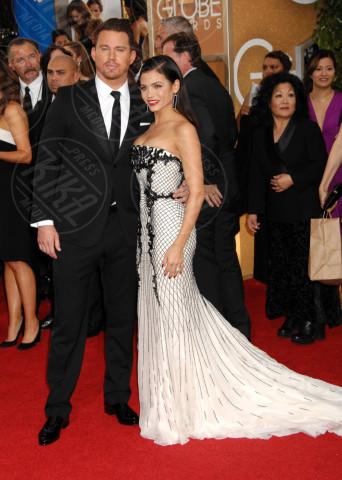 Jenna Dewan, Channing Tatum - Beverly Hills - 12-01-2014 - Golden Globe 2014: gli arrivi sul red carpet