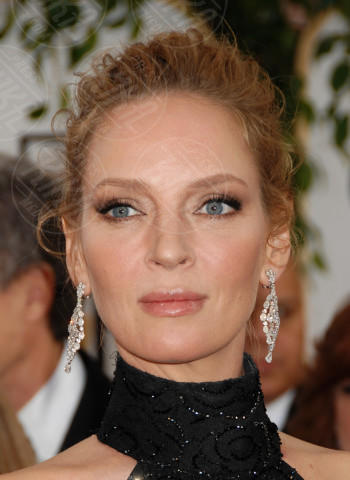 Uma Thurman - Beverly Hills - 12-01-2014 - Golden Globe 2014: gli arrivi sul red carpet