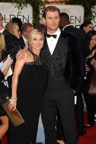 Chris Hemsworth, Elsa Pataky - Beverly Hills - 12-01-2014 - Golden Globe 2014: gli arrivi sul red carpet