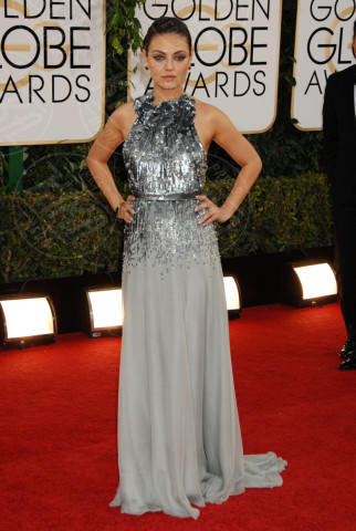 Mila Kunis - Beverly Hills - 12-01-2014 - Golden Globe 2014: gli arrivi sul red carpet