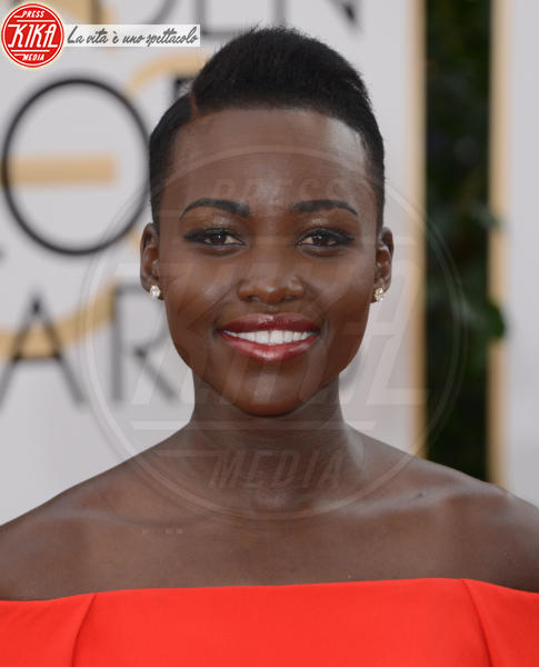 Lupita Nyong'o - Beverly Hills - 12-01-2014 - 86th Oscar: sfida all'ultima acconciatura